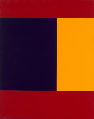 Composition with Red, Blue and Yellow