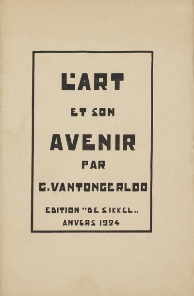 L'Art et son Avenir (cover)