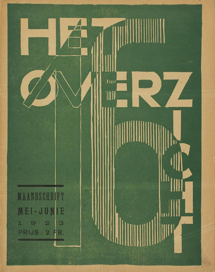László Moholy-Nagy, Het Overzicht (cover), collection Museum of Fine Arts, Ghent.